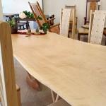 トチ一枚板 フリーテーブル ( 2 )