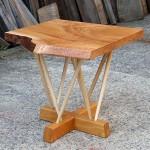 ケヤキ一枚板 ティーテーブル