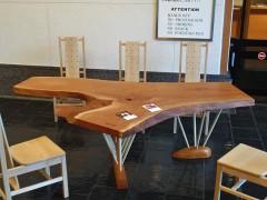 ケヤキ一枚板 フリーテーブル
